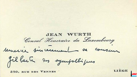 Wurth Jean Ingnieur Luxembourg