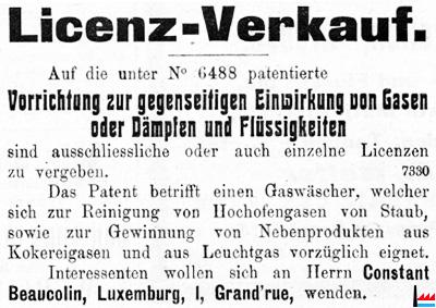 Les industries de la famille beaucolin luxembourg - Bureau des contributions directes luxembourg ...