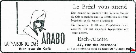 Kaffir ischterei n zu l tzebuerg torr factions de caf for Maison du luxembourg restaurant